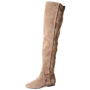 Lucky Brand Knee High suede boots